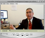Executive Employment Lawyer Joe Ahmad video.